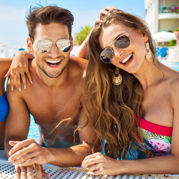 Residents enjoying a day in the sun at Olympus Emerald Coast in Destin, Florida