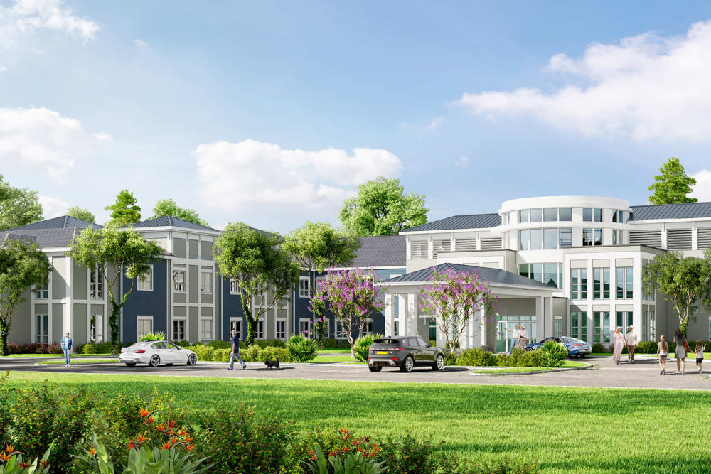 External photo rendering of The Meridian at Brandon in Tampa, Florida