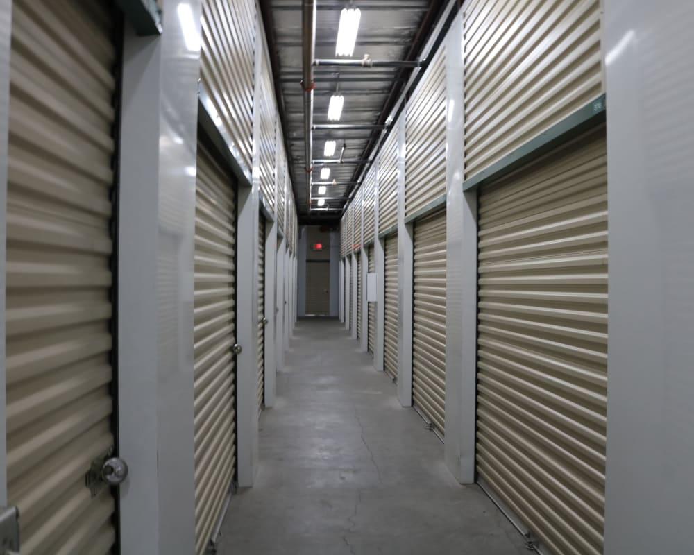 Climate-controlled storage at Golden State Storage - Horizon Ridge in Henderson, Nevada