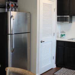 Stainless-steel appliances at Palmilla Apartments