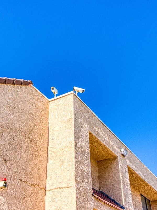 Video cameras at Devon Self Storage in Palm Springs, California