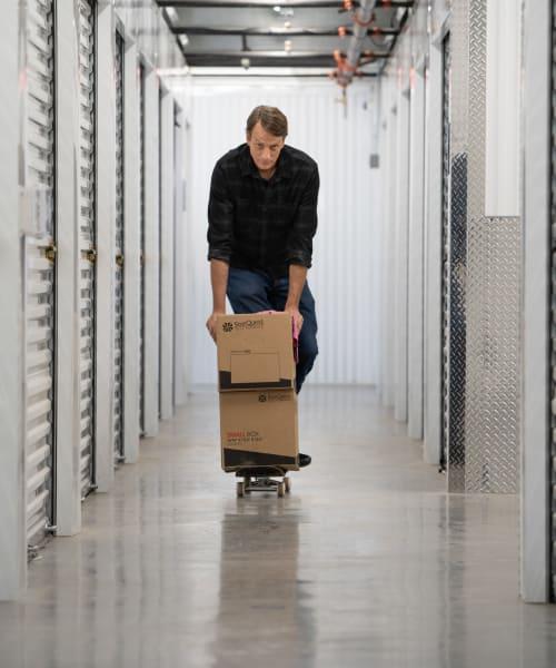 Tony Hawk debuts a new trick at StorQuest Self Storage