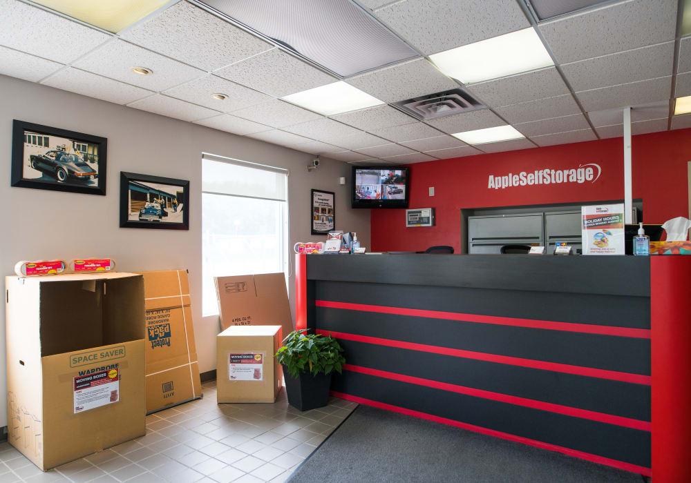 Packing supplies at Apple Self Storage - Toronto - Danforth in Toronto, Ontario