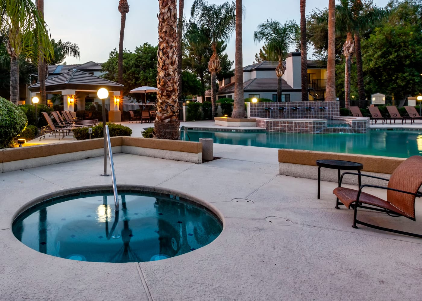 Swimming pool at CentrePoint Apartments in Tucson