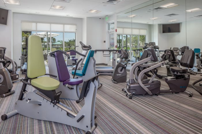 Fully Equipped Fitness Center at All Seasons Naples in Naples, Florida