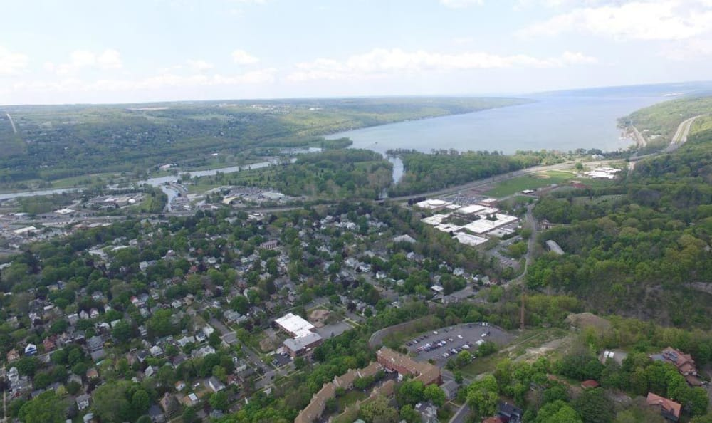 View of area around Gun Hill