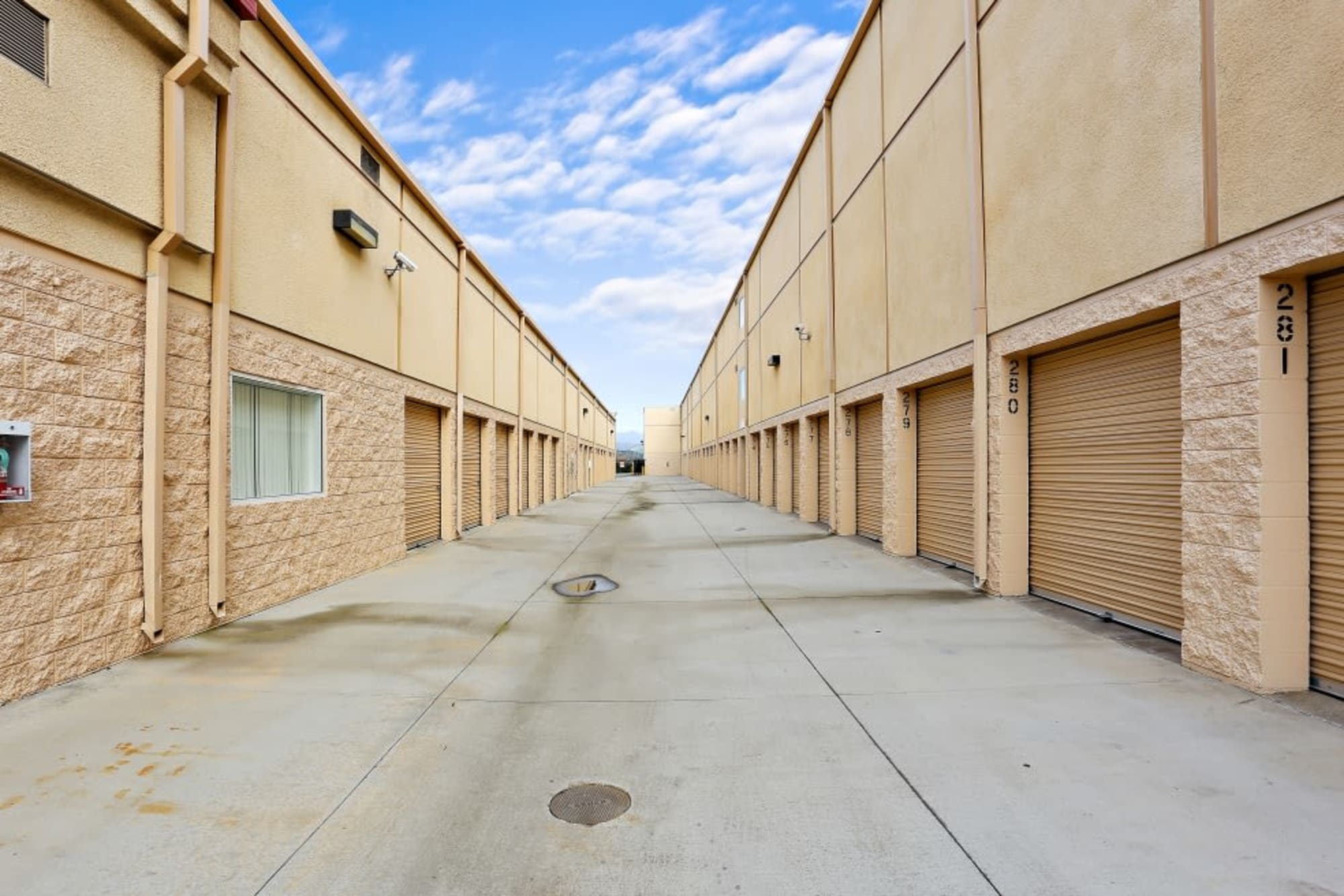 Convenient outdoor storage at A-1 Self Storage in Lakeside, California