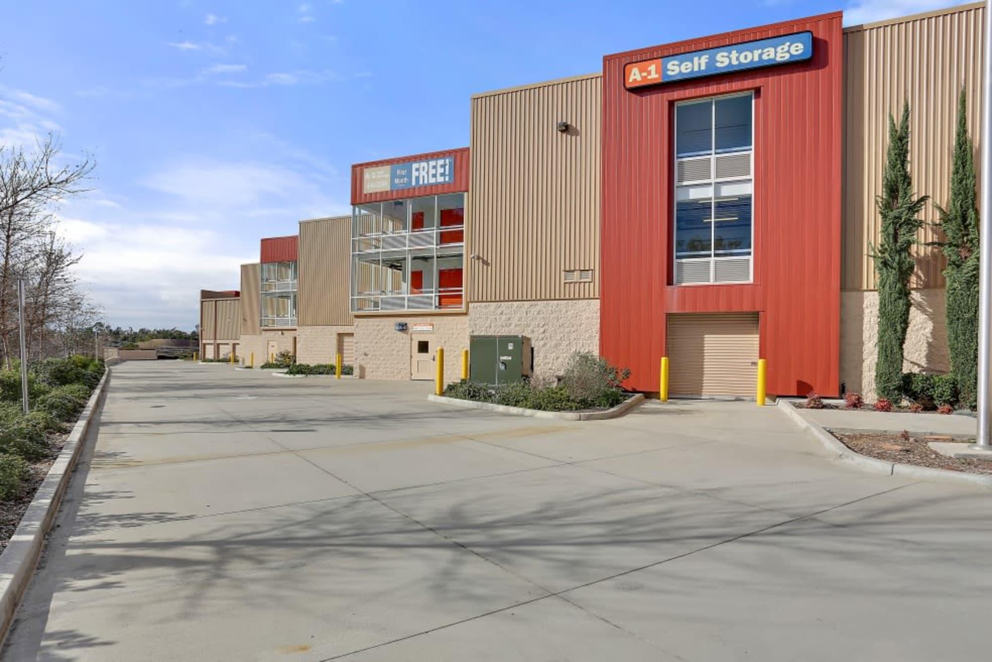 Entrance at A-1 Self Storage in San Diego, CA