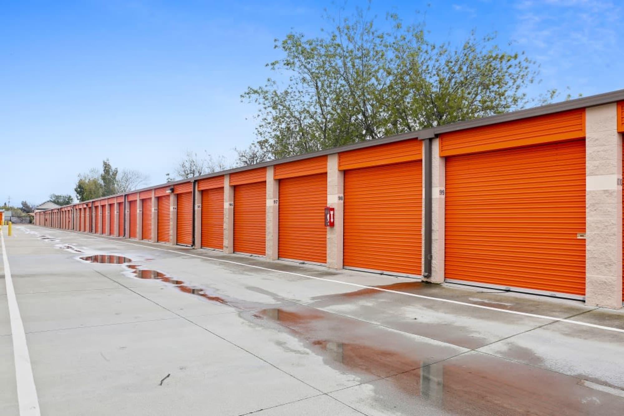 Exterior units at A-1 Self Storage