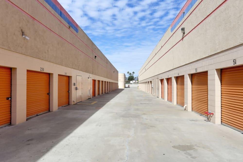 Convenient outdoor storage at A-1 Self Storage in El Cajon, California