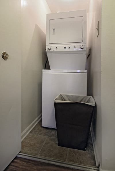 Washer/dryer at apartments in Harrisburg, Pennsylvania