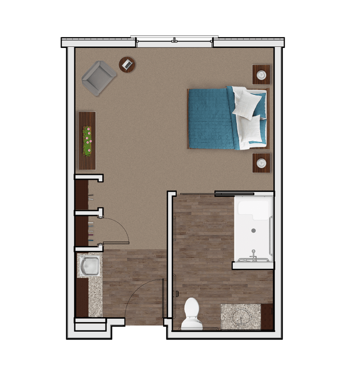 Memory Care Private Suite at Stonecrest of Anderson Township
