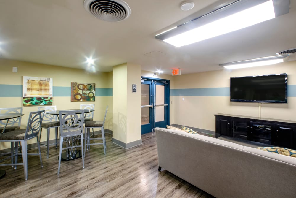 Clubhouse at The Warwick Apartments