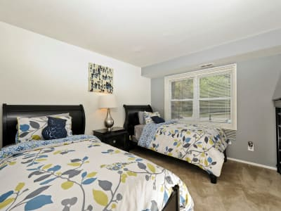 Our apartments in Windsor Mill, MD showcase a spacious living area