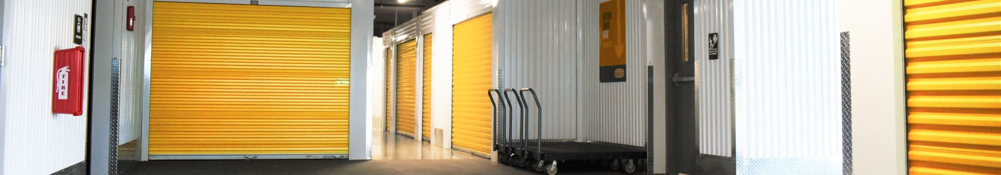 Features at Storage 365 in Plano, Texas