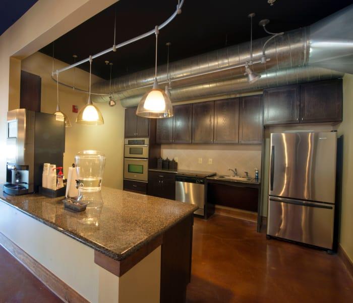 Beautiful kitchen at The Atlantic McKinney Ranch in McKinney, Texas