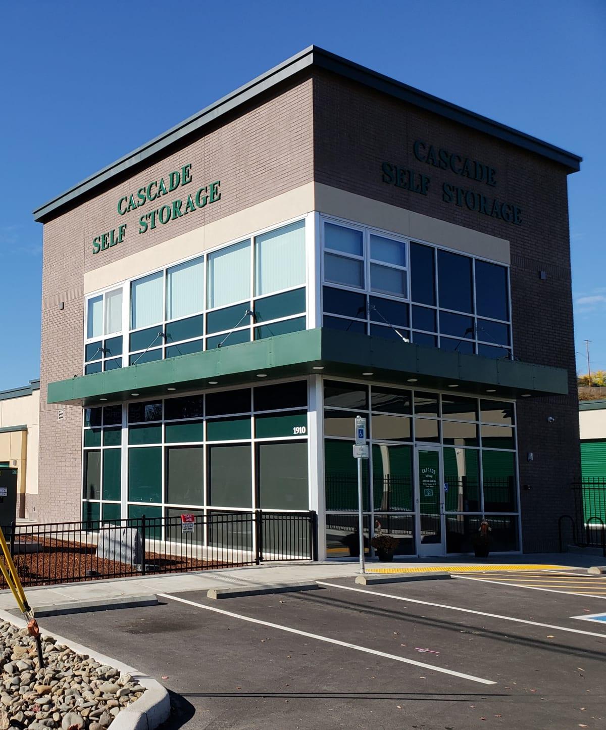 Cascade Self Storage in Roseburg, Oregon, Privacy Policy