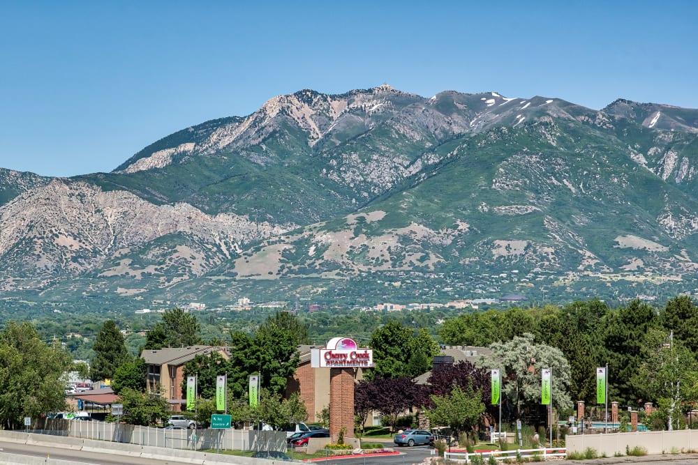 Cherry Creek Apartments is Located in Beautiful in Riverdale, Utah