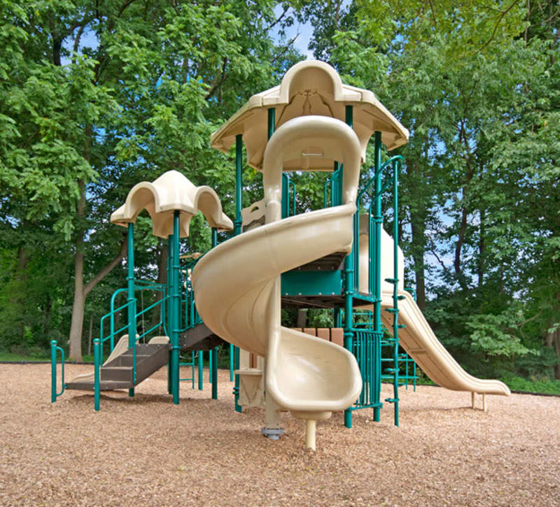 Onsite playground at Frazer Crossing in Malvern, Pennsylvania