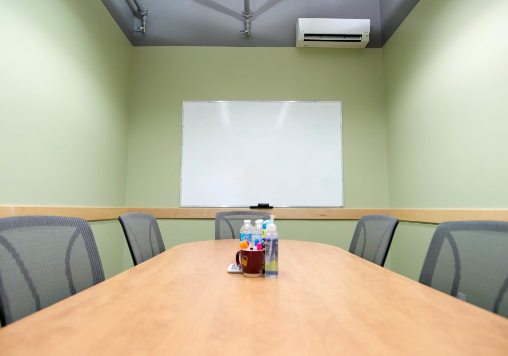 Boardroom for rent at Apple Self Storage - Toronto Downtown in Toronto, Ontario
