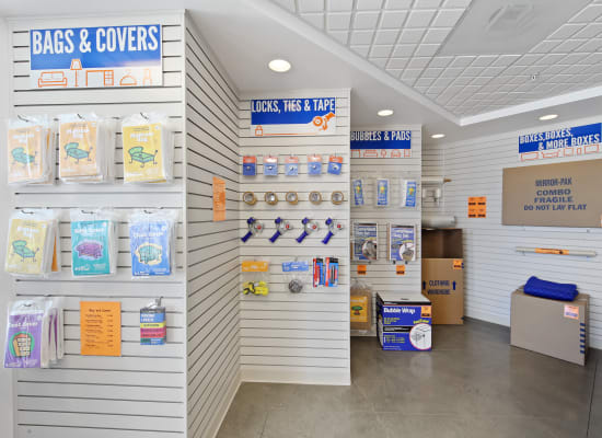 Packing and moving supplies available at A-1 Self Storage in National City, California