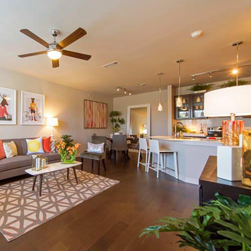 View virtual tour for 2 bedroom 2 bathroom home at Elite 99 West in Katy, Texas