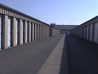 Exterior storage units at Storage Star in Modesto, California