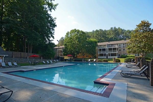 The Crossing at Henderson Mill apartments in Atlanta, Georgia