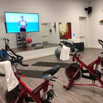 Utilize our virtual training classes to stay fit at Lola Apartments in Riverview, Florida