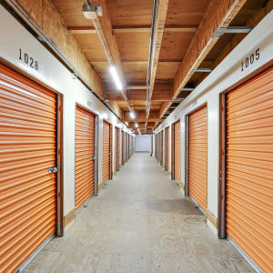 Inside storage units at A-1 Self Storage in Oceanside, California