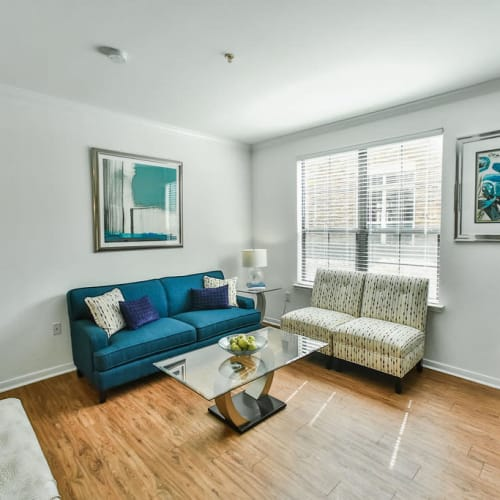 View virtual tour for 1 bedroom 1 bathroom unit at Stone Creek at The Woodlands in The Woodlands, Texas