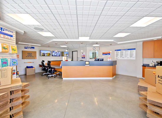 Leasing office at A-1 Self Storage in National City, California
