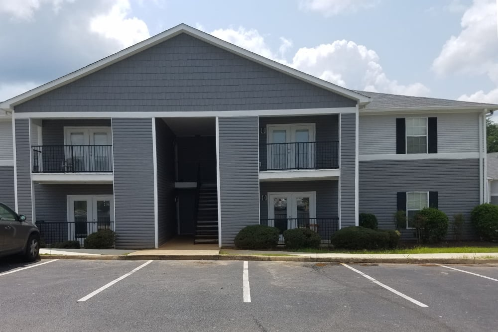 Apartment building at Park Place in Jackson, Tennessee.