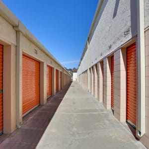Outside storage units in {location_city}}, California at A-1 Self Storage