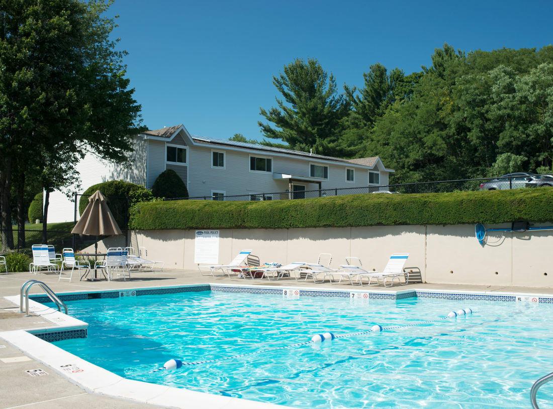Horizon Ridge Apartments offers a swimming pool in East Greenbush, NY