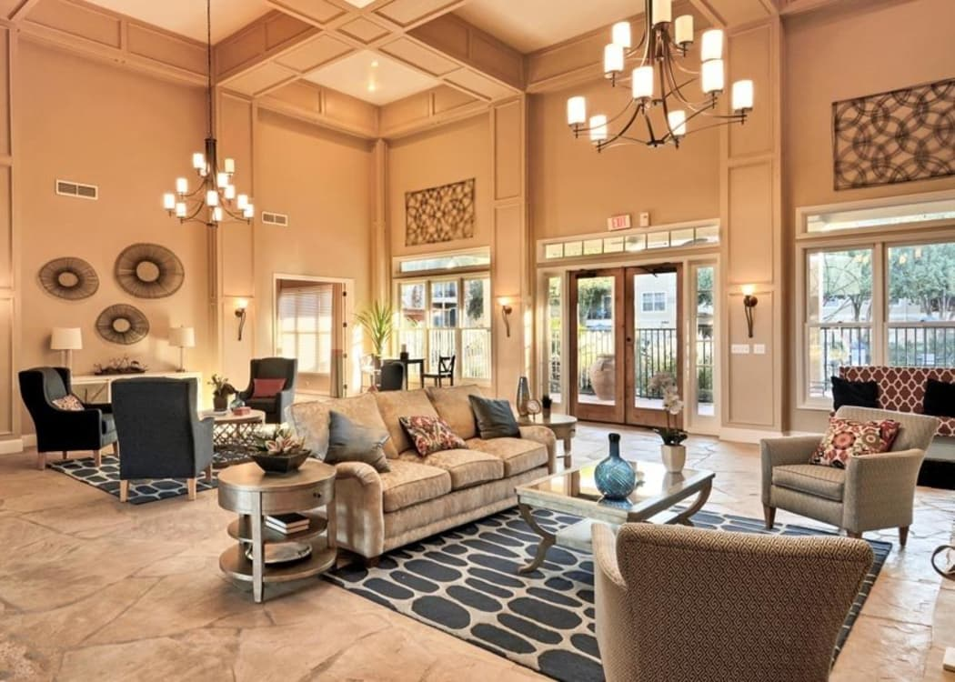 Beautiful clubhouse at Salado Springs Apartments