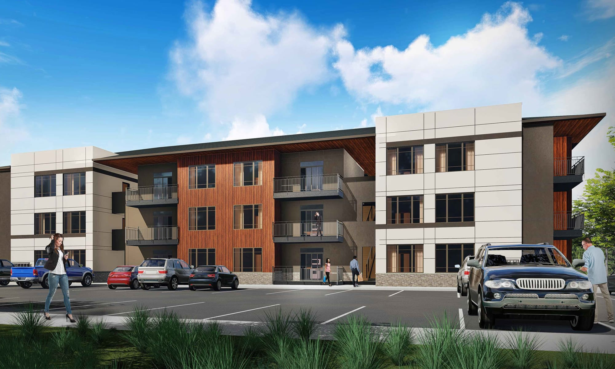 Rendering of our community at Uptown Ann Arbor in Ann Arbor, Michigan