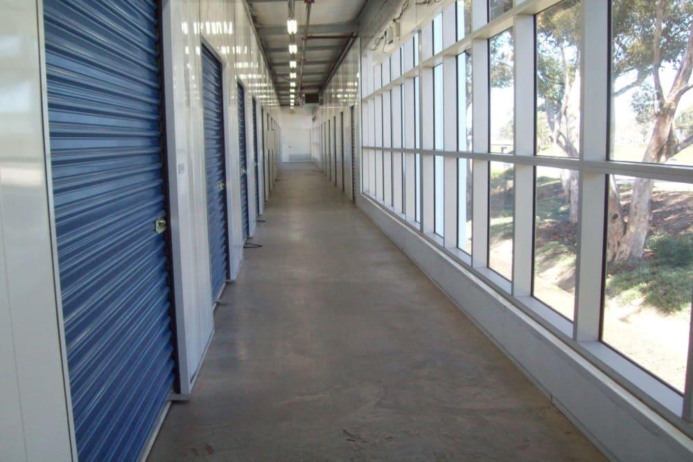 Hallway at Storage Etc... Hancock St