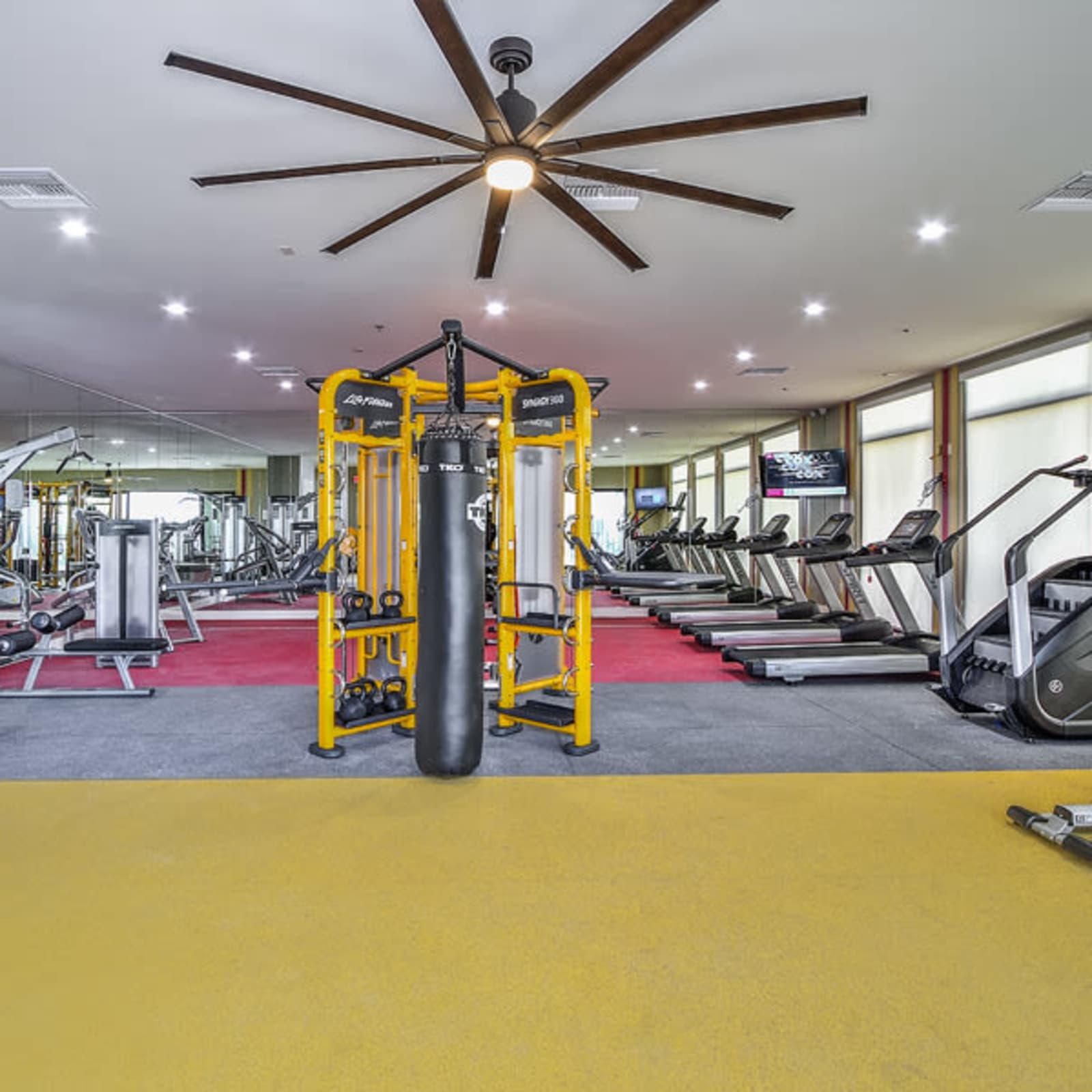 We offer a fully equipped fitness center at Revolution in Henderson, Nevada