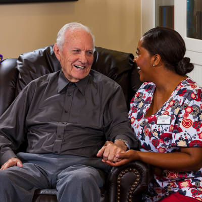 Memory care at senior living in Jefferson House Memory Care Community