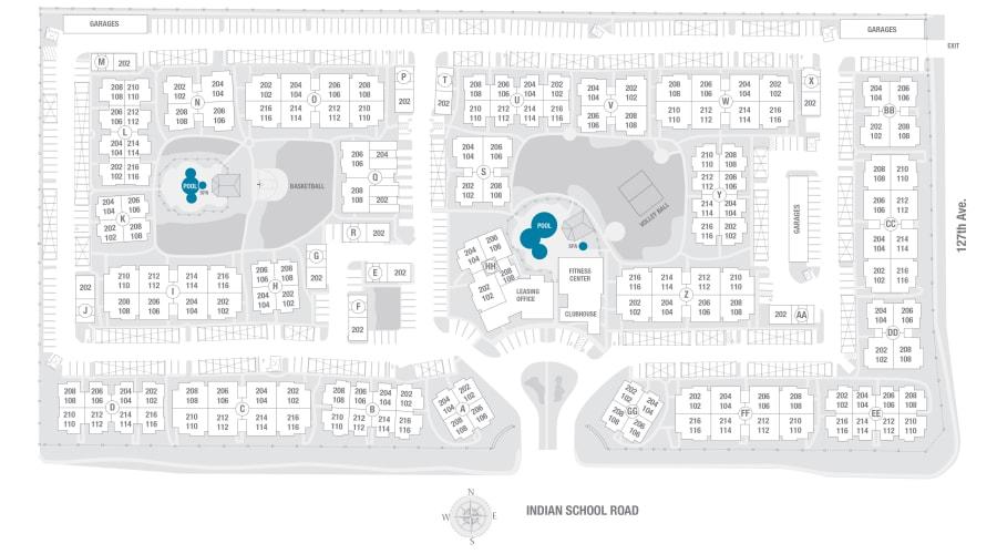 Remington Ranch site plan