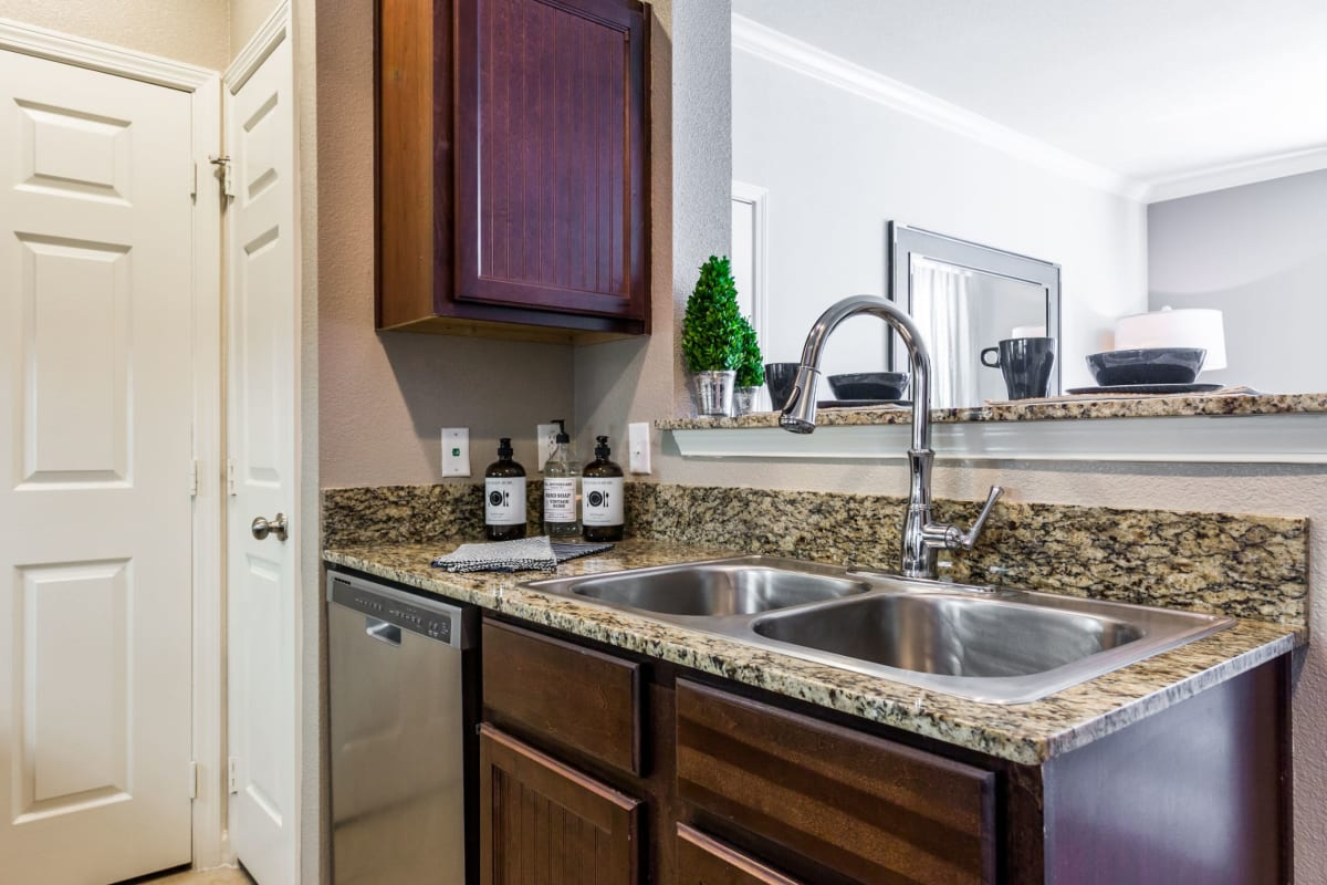 Kitchen at Marquis at Crown Ridge in San Antonio, Texas
