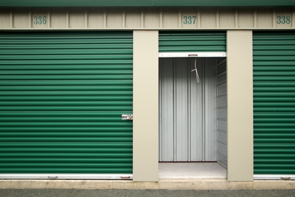 Exterior storage at Capital Self Storage in Liberty, New York