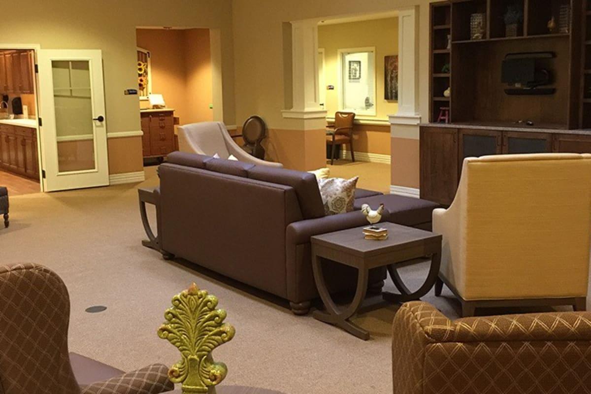 Common areas at New Dawn Memory Care in Colorado Springs, Colorado