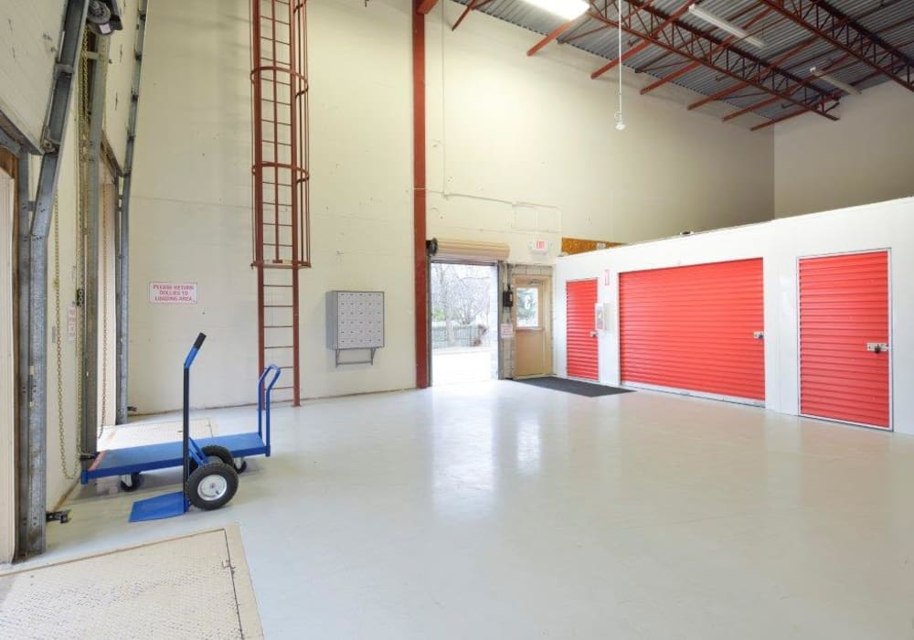 Interior units are available at Apple Self Storage - Kingston in Kingston, Ontario