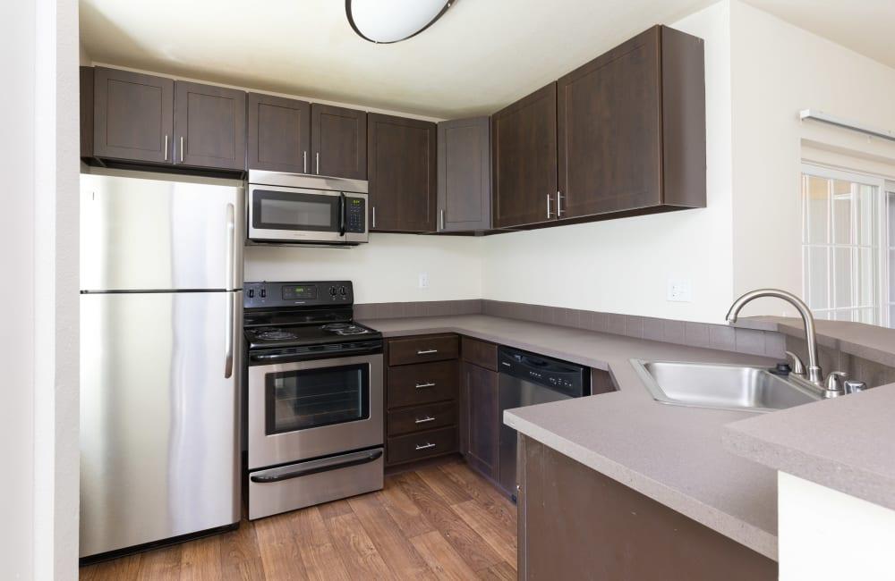 Kitchen at Autumn Chase Apartments