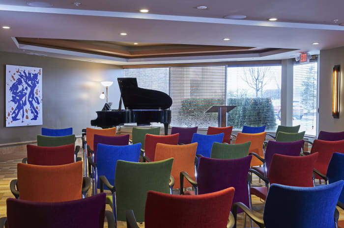 Special event room at All Seasons of Rochester Hills in Rochester Hills, Michigan