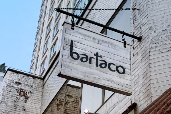 Bartaco in Stamford, Connecticut, is a favorite among locals