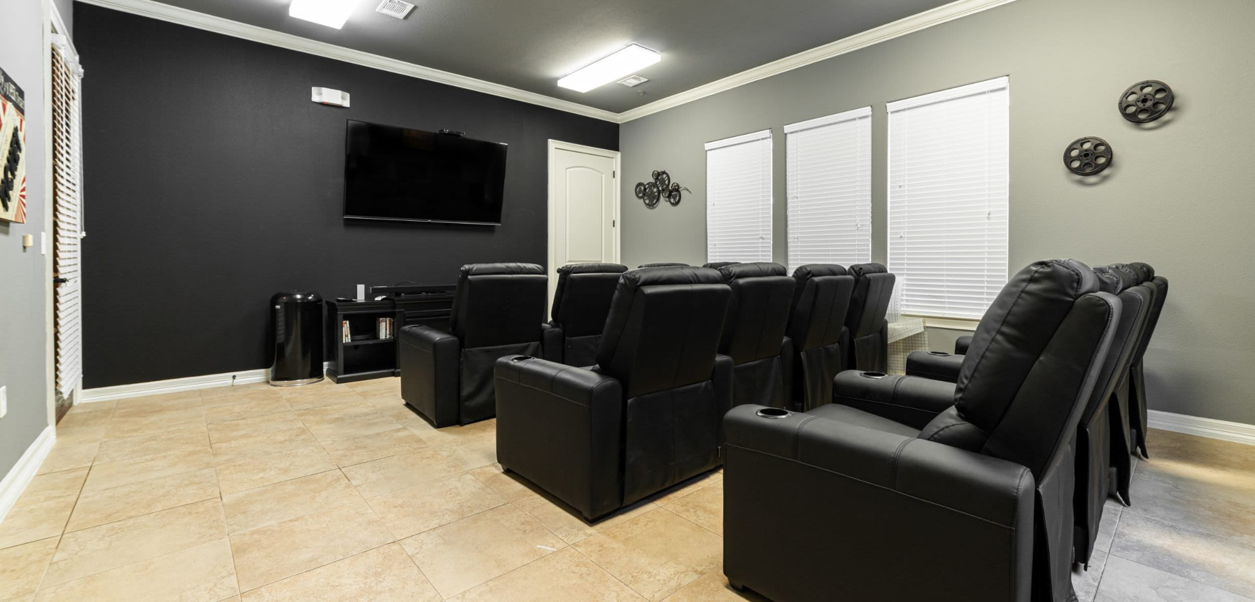 TV with theater style seating Marquis Rockwall in Rockwall, Texas