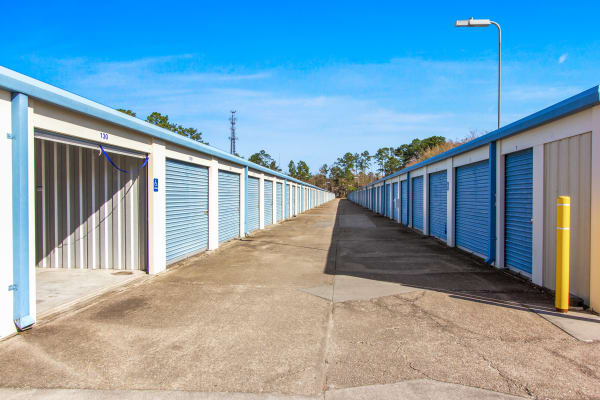Vehicle storage at Global Self Storage in Summerville, South Carolina